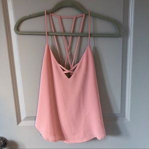 Pink Tank Top Size S